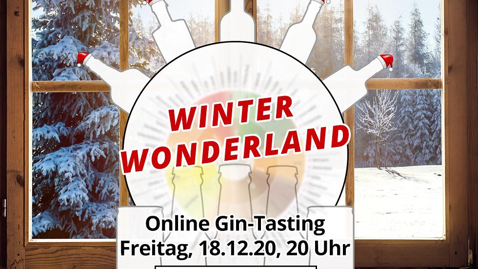 """Online Gin Tasting No. 13 """"Winter Wonderland""""  - 18.12.2020 - 20:00 Uhr"""