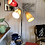 Thumbnail: Dreiarmige 60ties Lampe