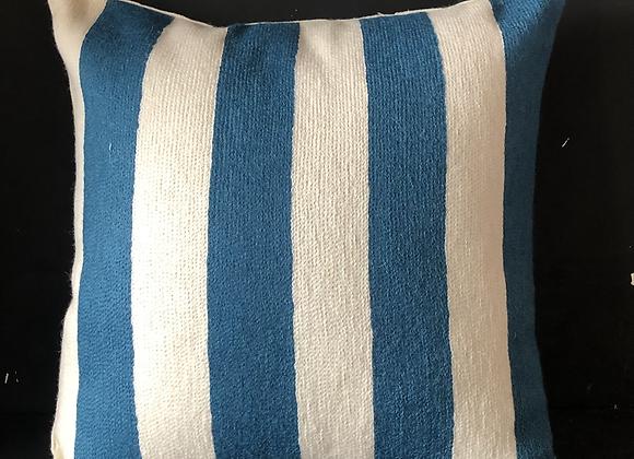 Blauweisse Streifen breit