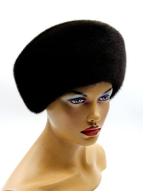 шапка с мехом