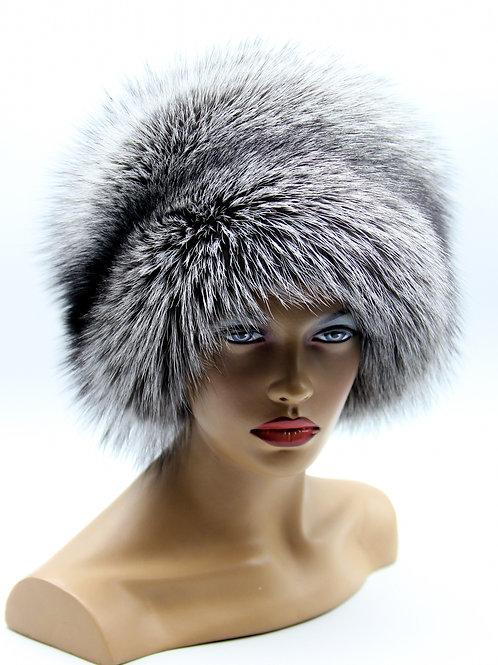 купить шапку из меха чернобурки