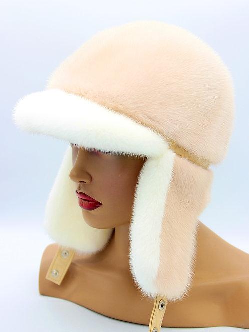 меховая женская ушанка