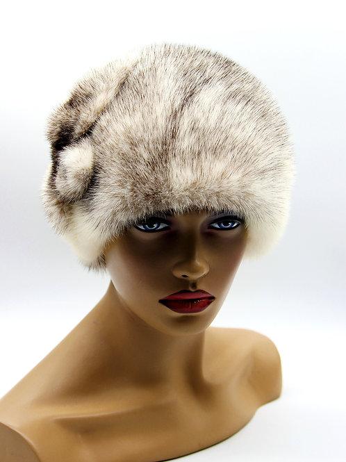 как украсить женскую норковую шапку