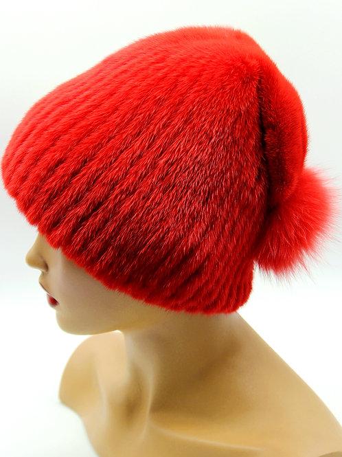 купить шапку из натурального меха в украине