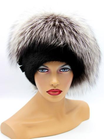 Купить шапку из чернобурки