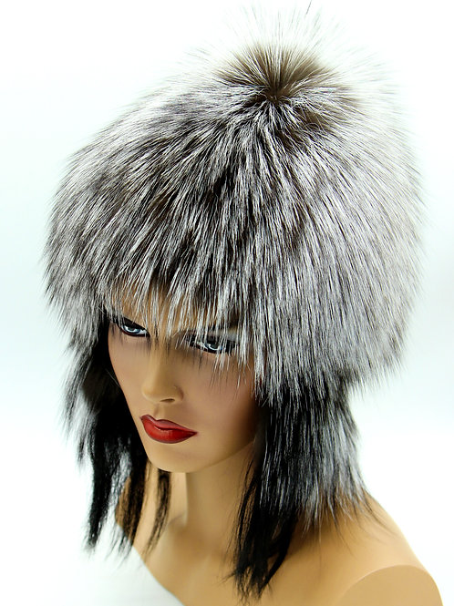 шапка из чернобурки цена