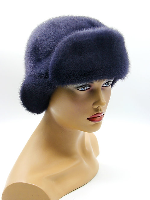 женская меховая шапка ушанка киев