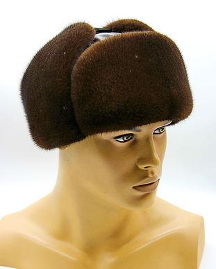 Меховая шапка мужская
