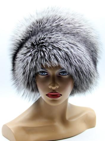 Купить шапку из чернобурки в украине