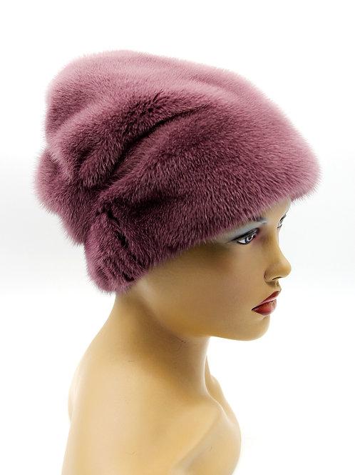 шапки норковые женские