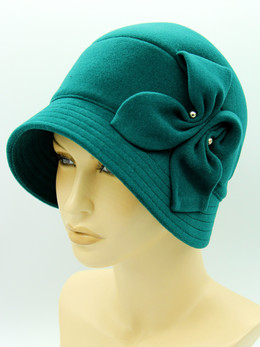 шляпа женская осень