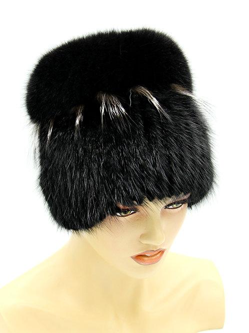 зимние женские шапки из натурального меха