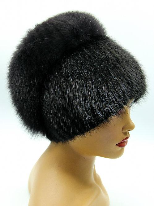 модные шапки из ондатры