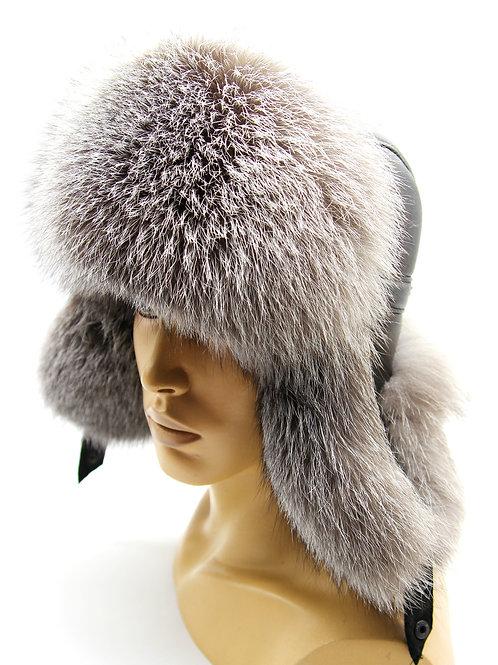 шапка из чернобурки мужская