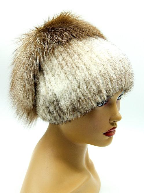 зимние шапки женские меховые