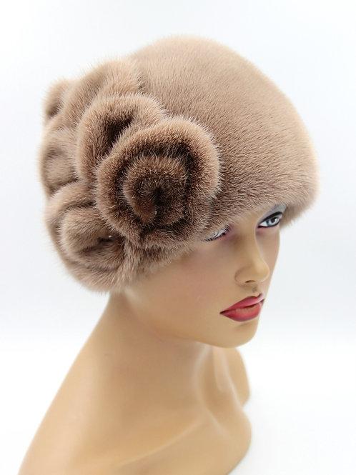шапка норковая женская купить
