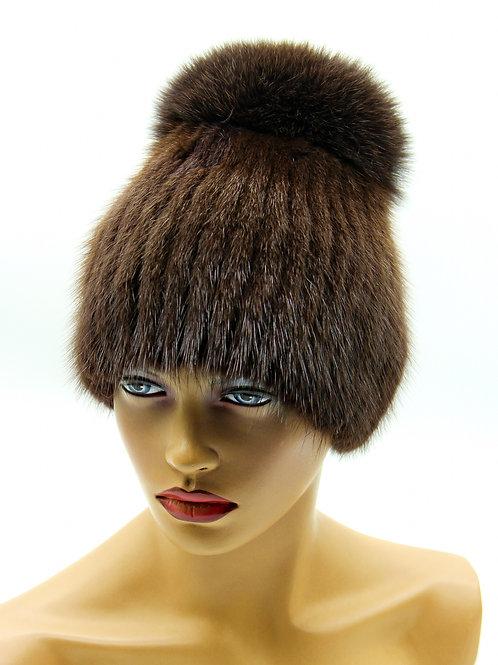 зимние меховые шапки женские