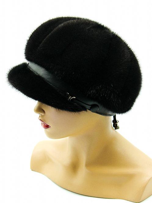 меховая кепка женская