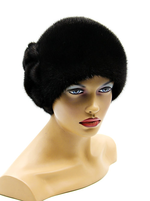 норковые женские шапки