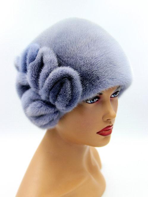 шапка из норки женская