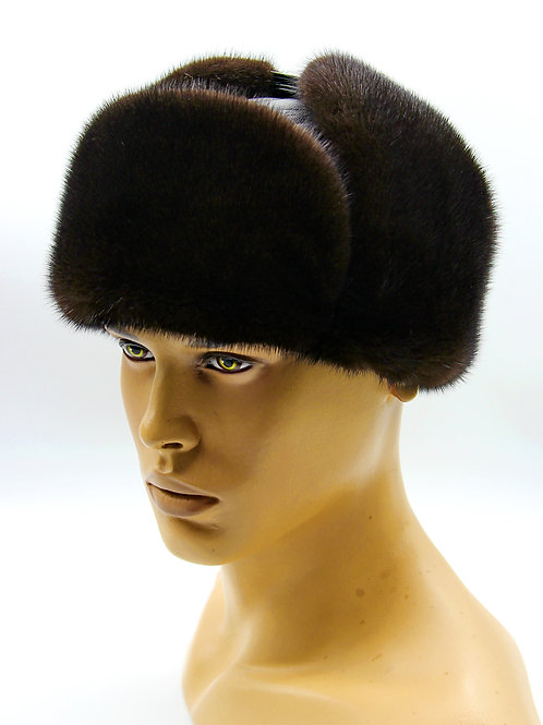 меховая мужская шапка