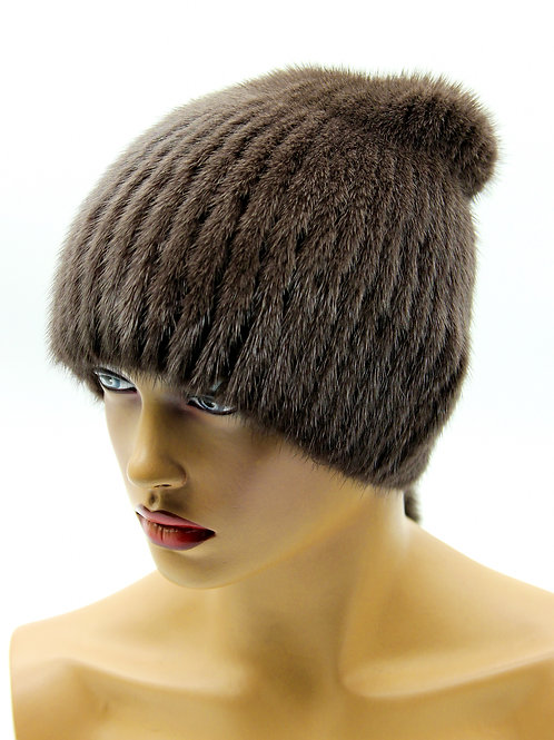 шапки из норки
