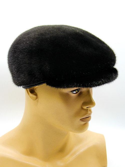 норковая мужская меховая кепка