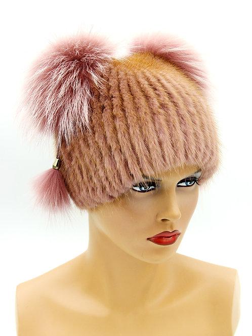 зимние шапки из ондатры