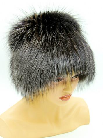 Женские шапки из чернобурки