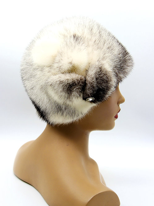купить норковую шапку женскую