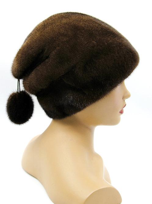 шапка женская зимняя меховая