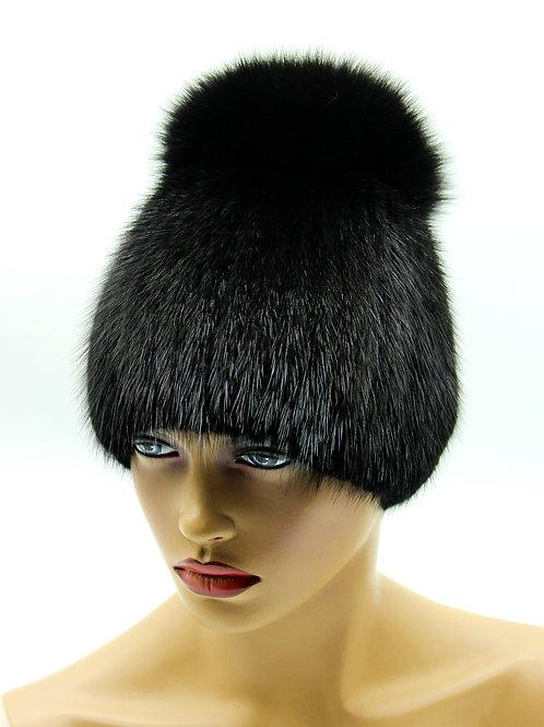 норковая шапка женская фото