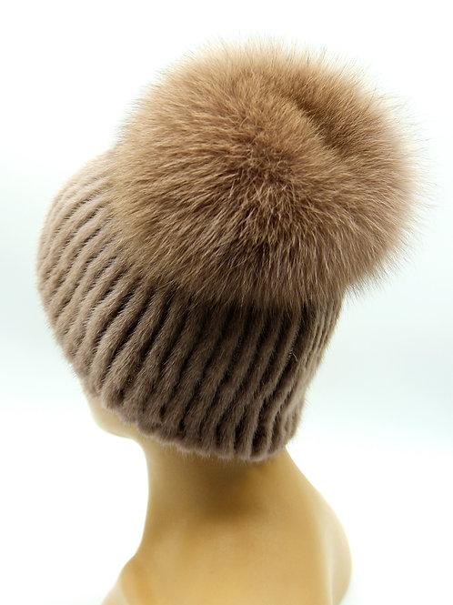 модели меховых женских шапок