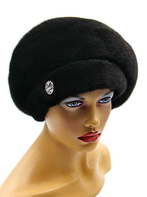 киев купить норковый берет шапочку