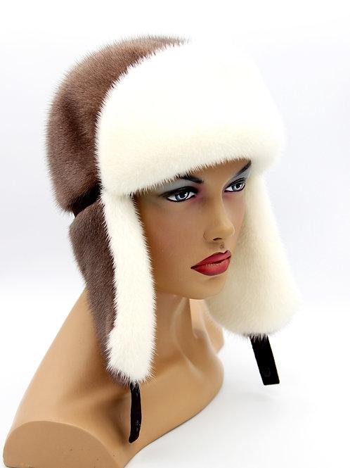 купить норковую шапку ушанку