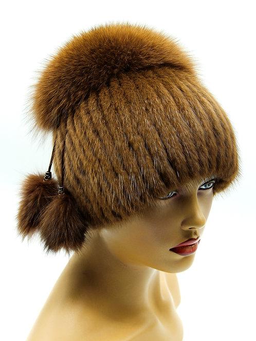 купить зимнюю меховую женскую шапку