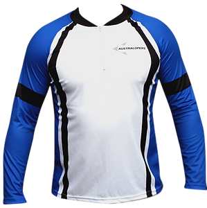 unisex club fit FLEX long sleeve orienteering top