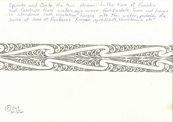 John Collins - Art Work-Hue Vertical Ban