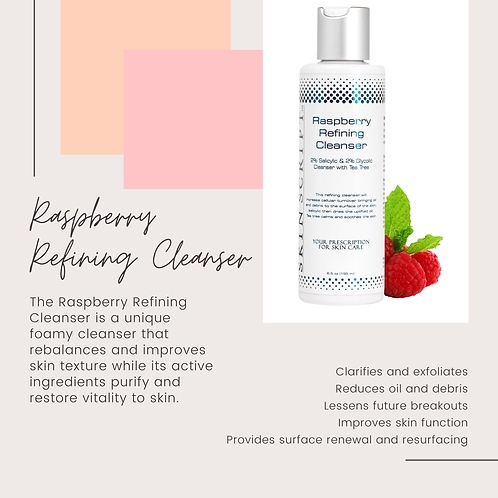 Raspberry refining cleanser 6.5 oz