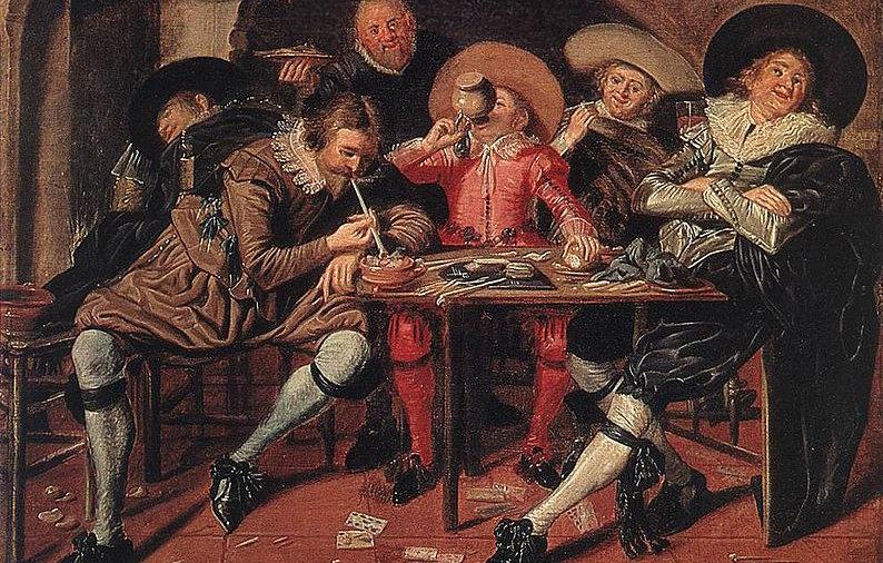 794px-Hals,_Dirck_-_Merry_Party_in_a_Tav