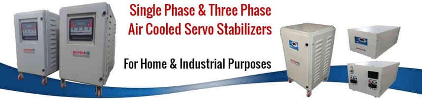 Air Cooled Servo Voltage Stabilizer Manufacturers