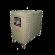 Three phase digital air cooled servo stabilizer, voltage stabilizer manufacturer in Gujarat