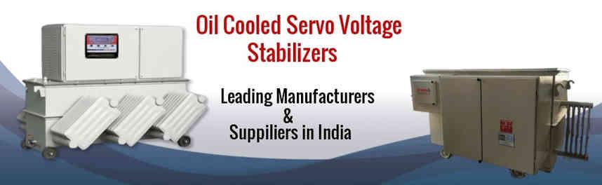 Ol Cooled Servo Stabilizer Manufacturers in India
