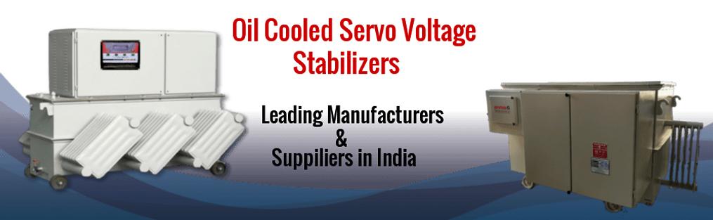 Industrial & Oil Cooled Digital Servo Stabilizer Manufacturers in Gujarat India