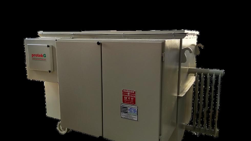 300 kVA Oil Cooled Servo Voltage Stabilizer