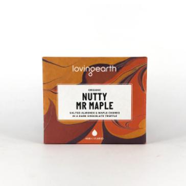 Loving Earth Organic Nutty Mr Maple