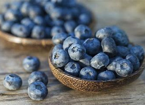Certified Organic Wild Blueberries 1kg