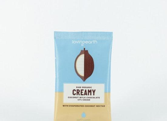 Loving Earth Organic Creamy Chocolate 30g