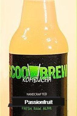 Scoo Brew Kombucha Passionfruit