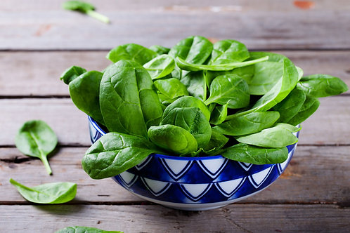 Certified Organic Baby Spinach